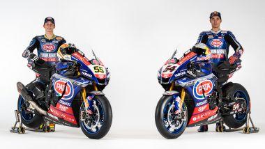WorldSBK 2021: Toprak Razgatlioglu e Andrea Locatelli, PATA Yamaha