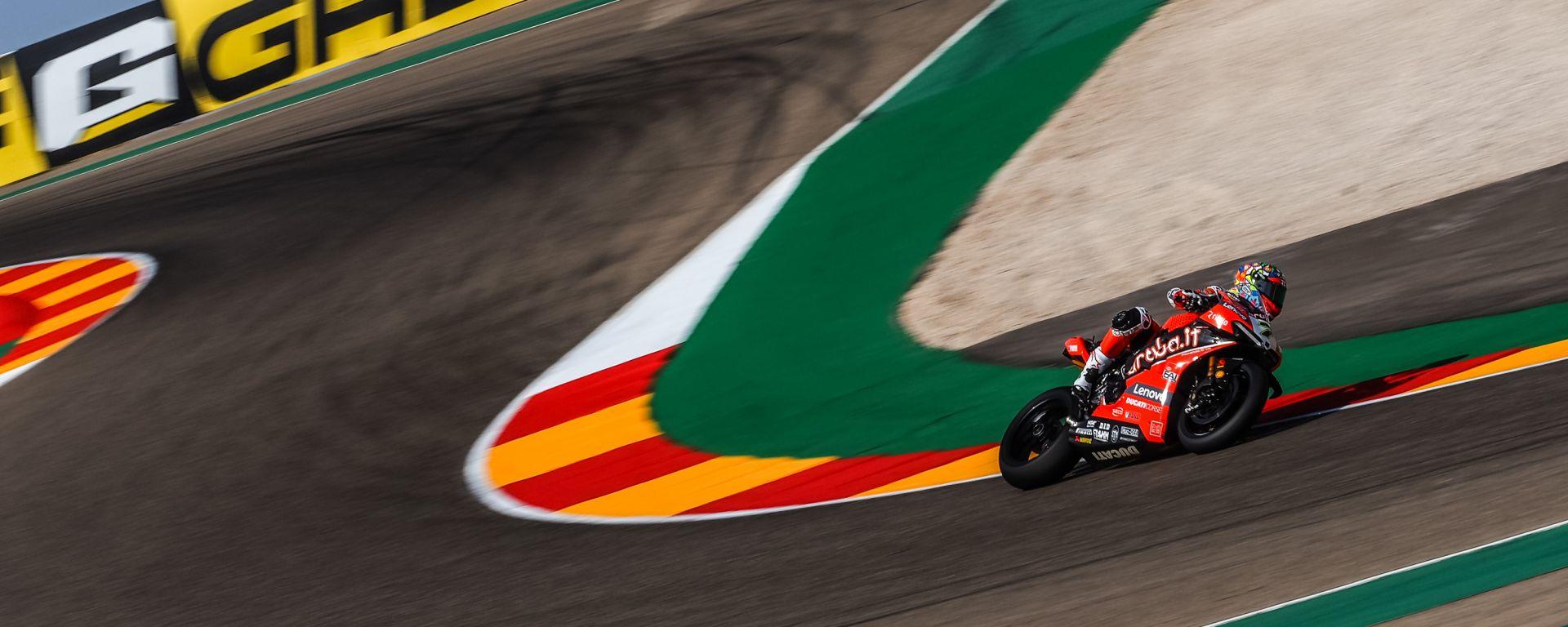 WorldSBK Round Aragon 1, Alcaniz: Michael Chaz Davies (Ducati)
