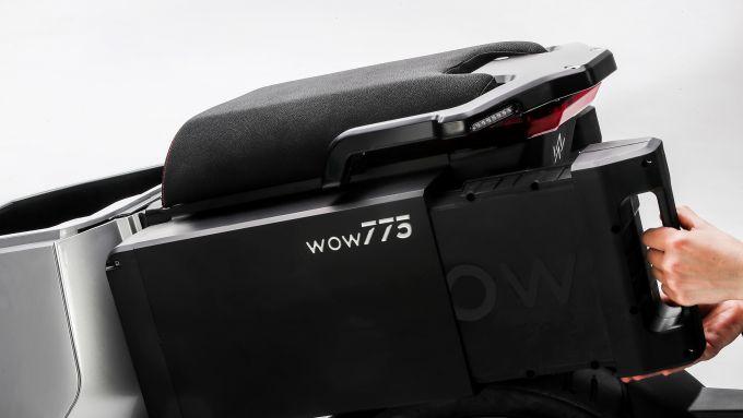 WOW 774 e 775: le batterie si smontano