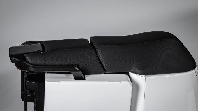 WoW! Model 4, dettaglio della sella