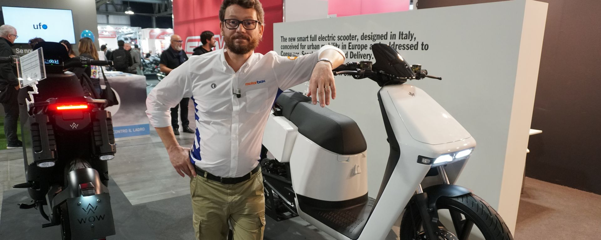 WoW! Model 6 e WoW! Model 4: gli scooter elettrici made in Italy a EICMA 2019