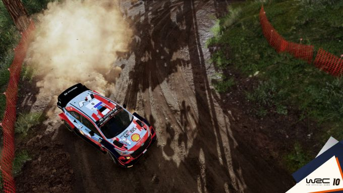 WRC 10: uno screenshot di gioco