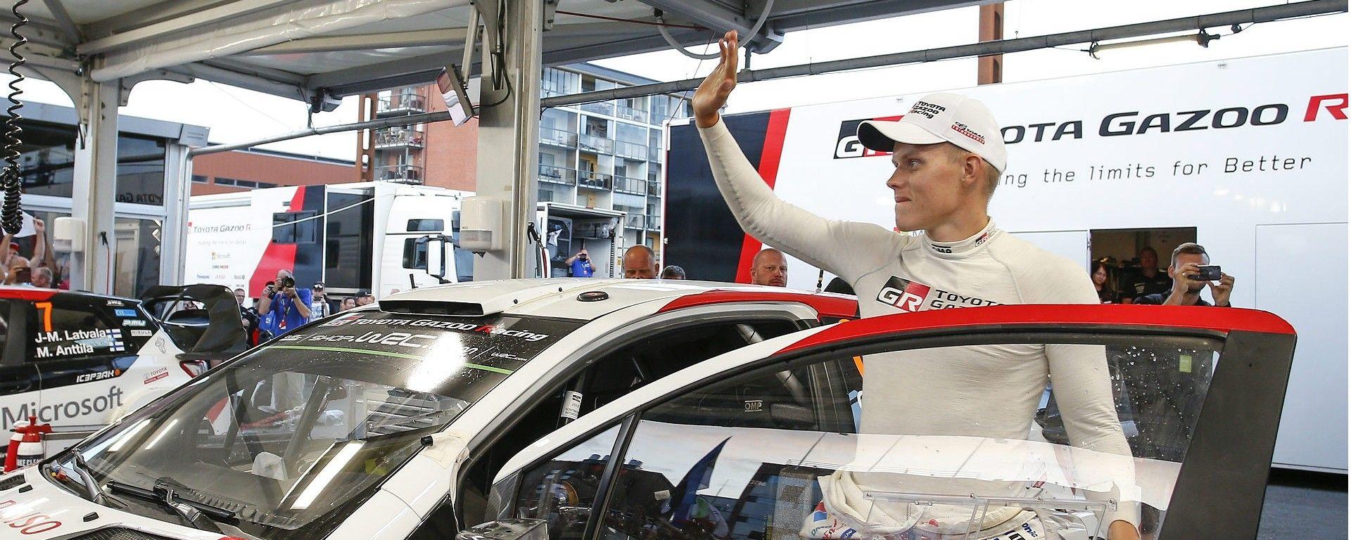 WRC 2018: è festa Toyota, Tanak conquista il Rally di Finlandia 2018