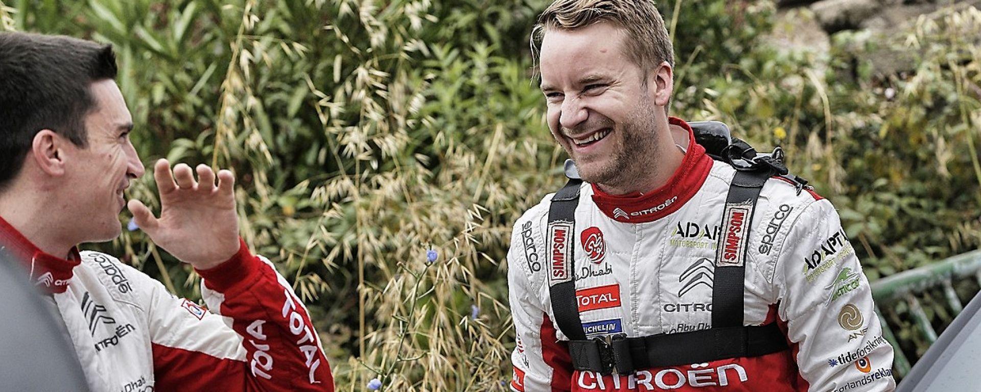 WRC 2018: Mads Ostberg sarà pilota ufficiale Citroen per tutta la stagione