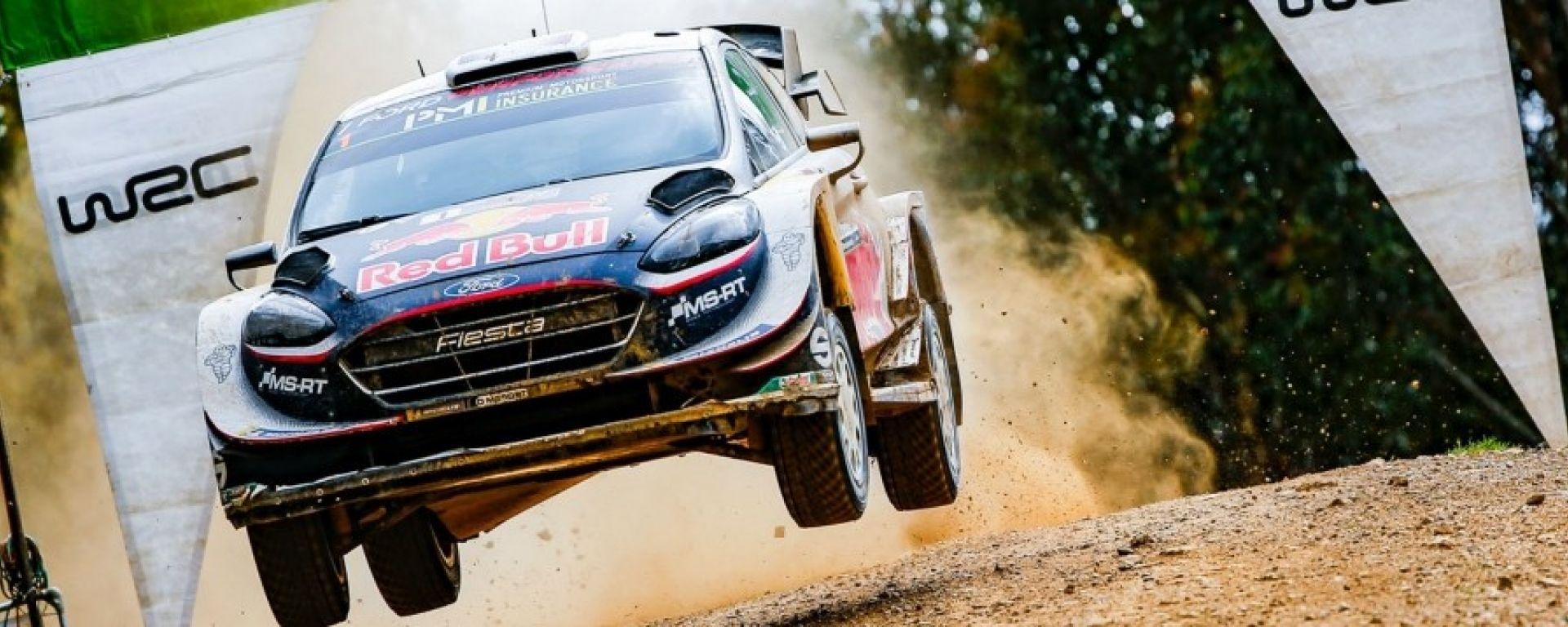 Sebastien Ogier è campione del mondo WRC 2018 con Ford