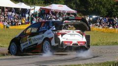 WRC 2018, Rally Germania: Tanak primo con Toyota. Ogier davanti a Neuville