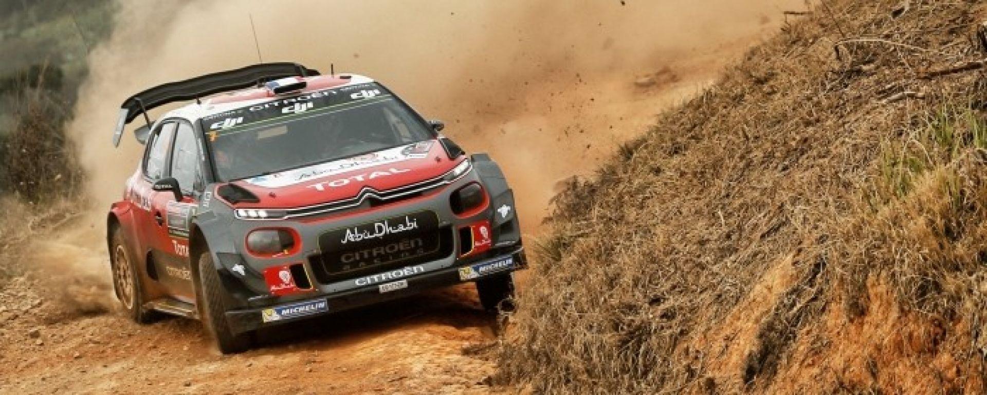 WRC 2018: un Rally del Portogallo amaro per Citroën Total Abu Dhabi WRT