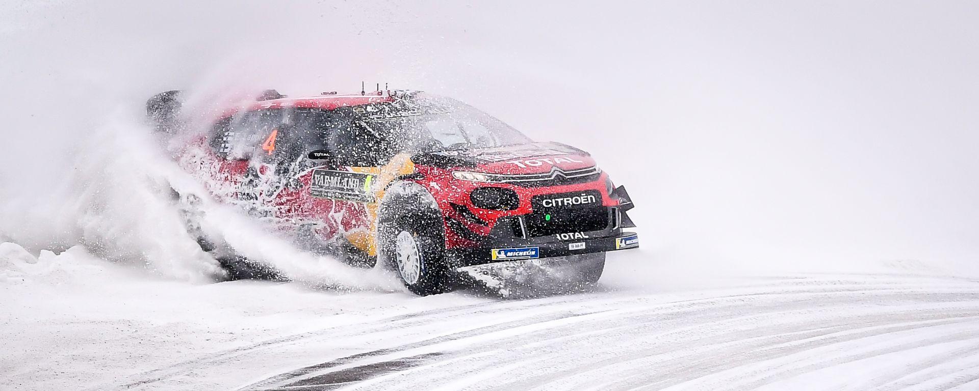 WRC 2019: in Svezia un podio che vale oro per Citroen