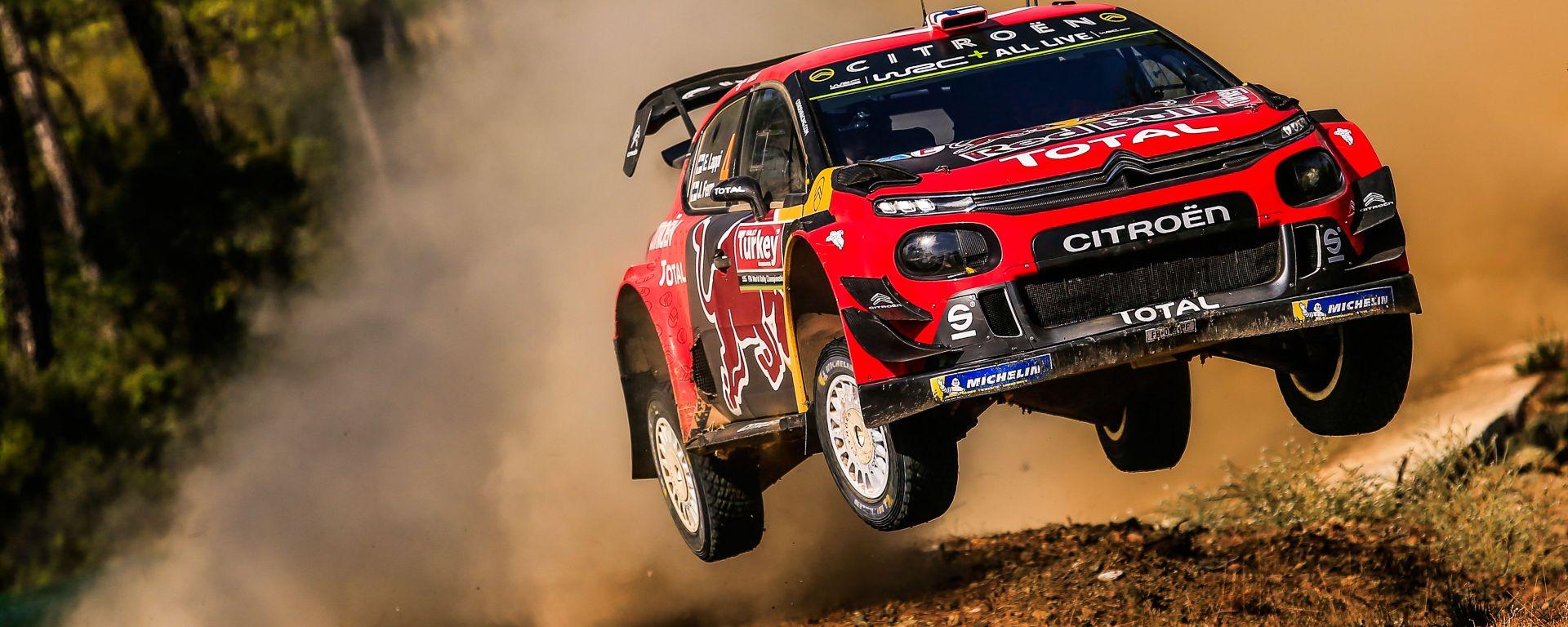 WRC 2019, la Citroen C3 Wrc Plus