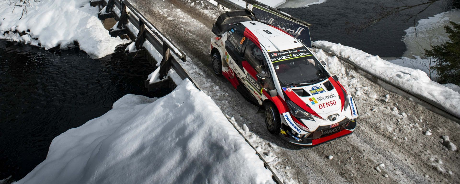 Rally di Svezia: Toyota vince con Tanak
