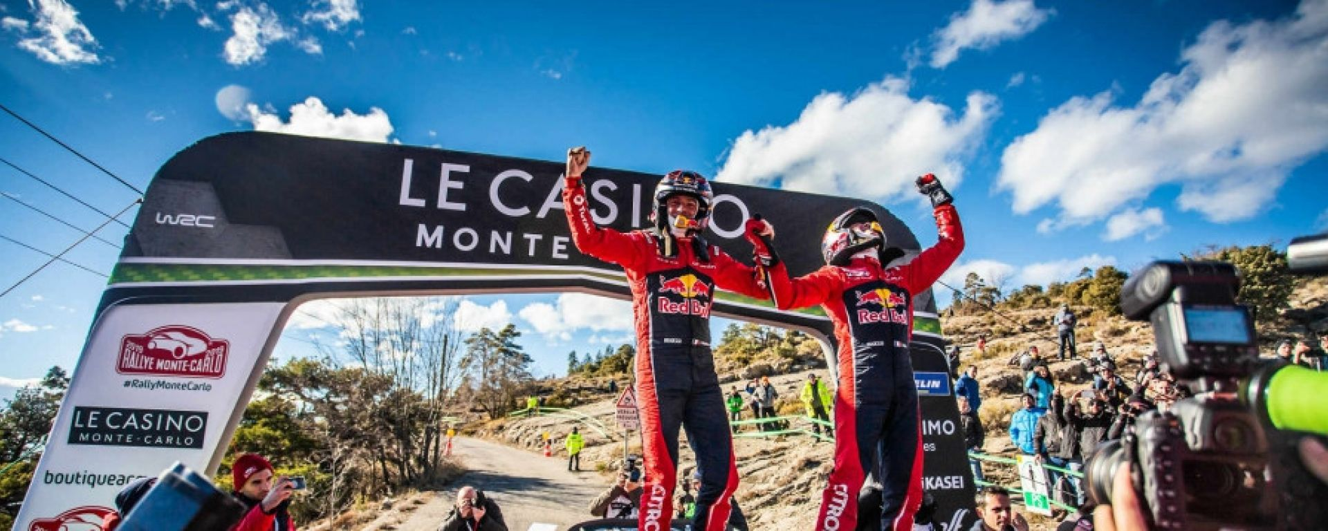 Rally di Monte-Carlo:Ogier regala la 100esima vittoria a Citroen