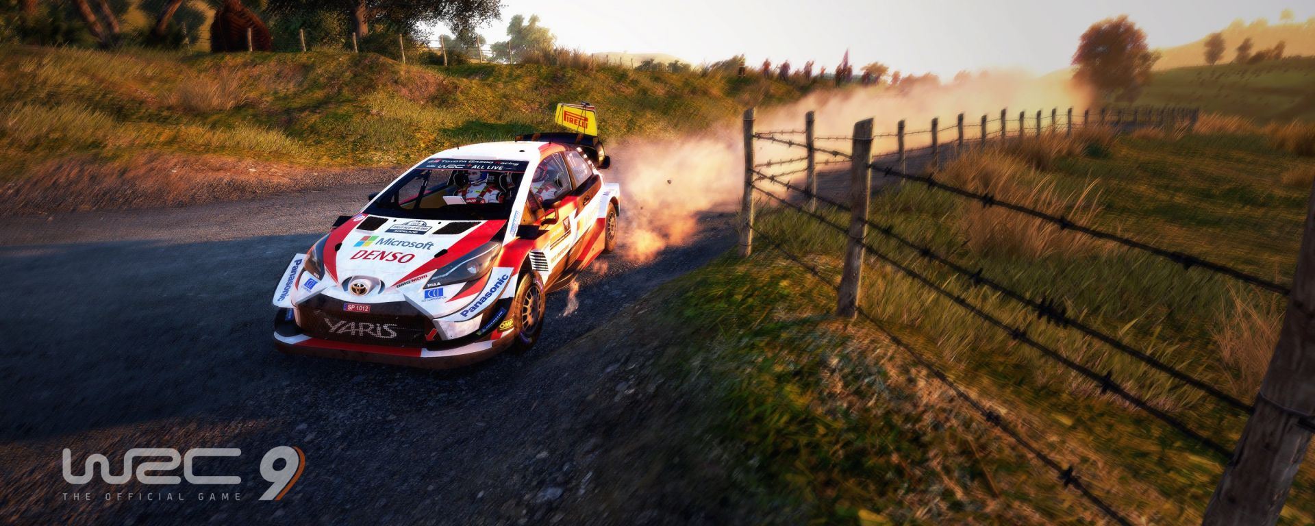 WRC 9: la Toyota impegnata in Nuova Zelanda