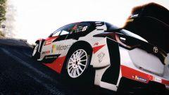 WRC 9 su Nintendo Switch: uno screenshot del gioco