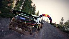 WRC 9 su PlayStation 5: una schermata di gioco