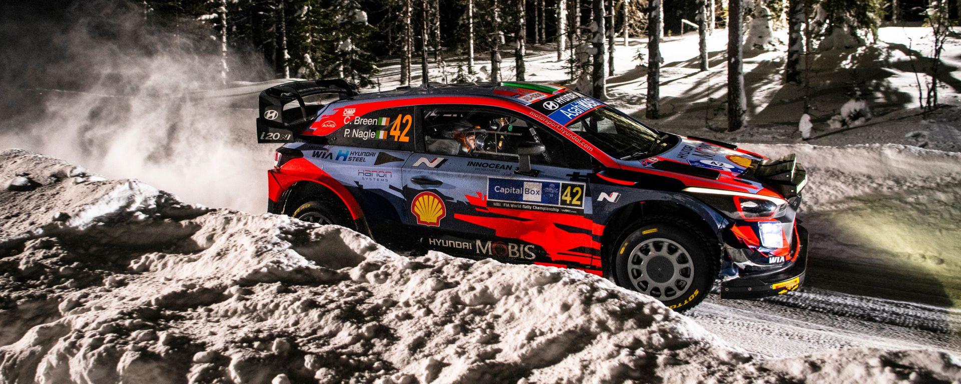 WRC, Arctic Rally Finlandia 2021: Craig Breen (Hyundai)