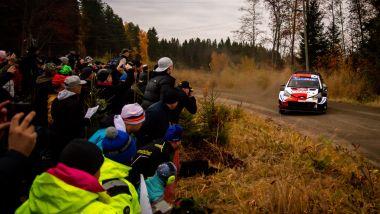 WRC Finlandia 2021: Takamoto Katsuka (Toyota)