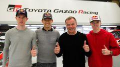Toyota, dream team WRC 2020: Ogier con Rovanpera e Evans