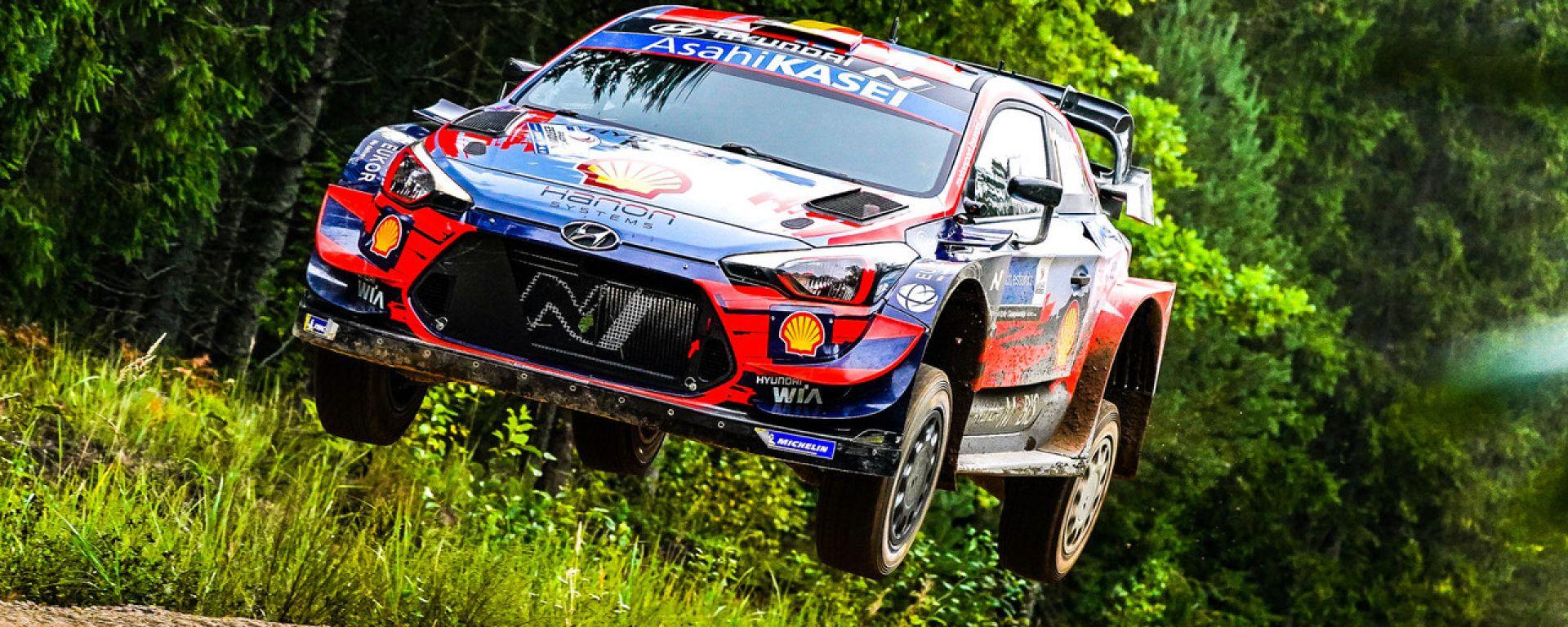 WRC, Rally Estonia 2020: la Hyundai i20 di Thierry Neuville