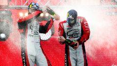 WRC, Rally Estonia 2020: Mads Osteberg e Torstein Eriksen (Citroen) festeggiano la vittoria nel WRC2