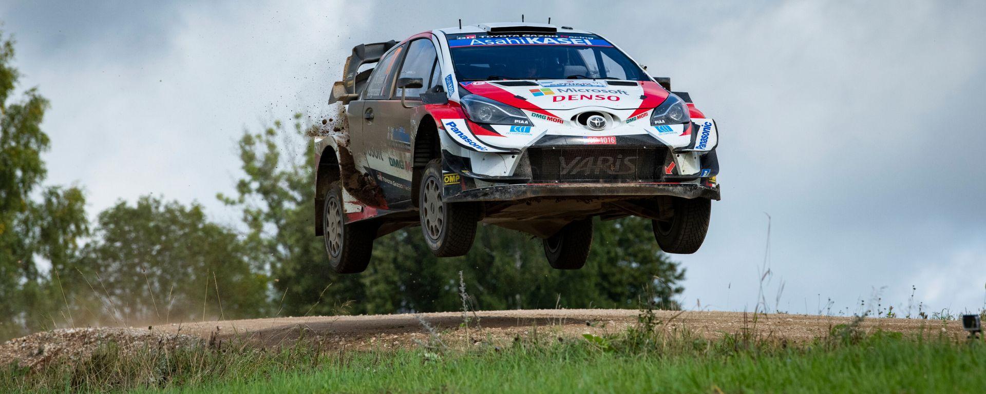WRC, Rally Estonia 2020: Sebastien Loeb (Toyota)