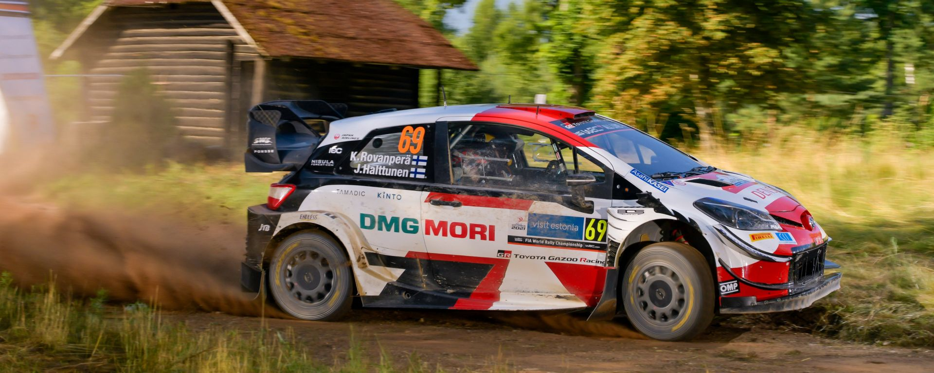 WRC, Rally Estonia 2021: Kalle Rovampera (Toyota)