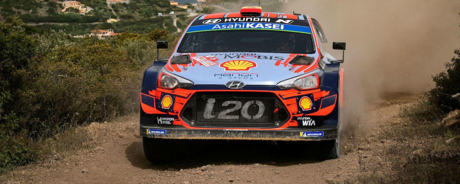 WRc, Rally Italia 2019: Dani Sordo (Hyundai)