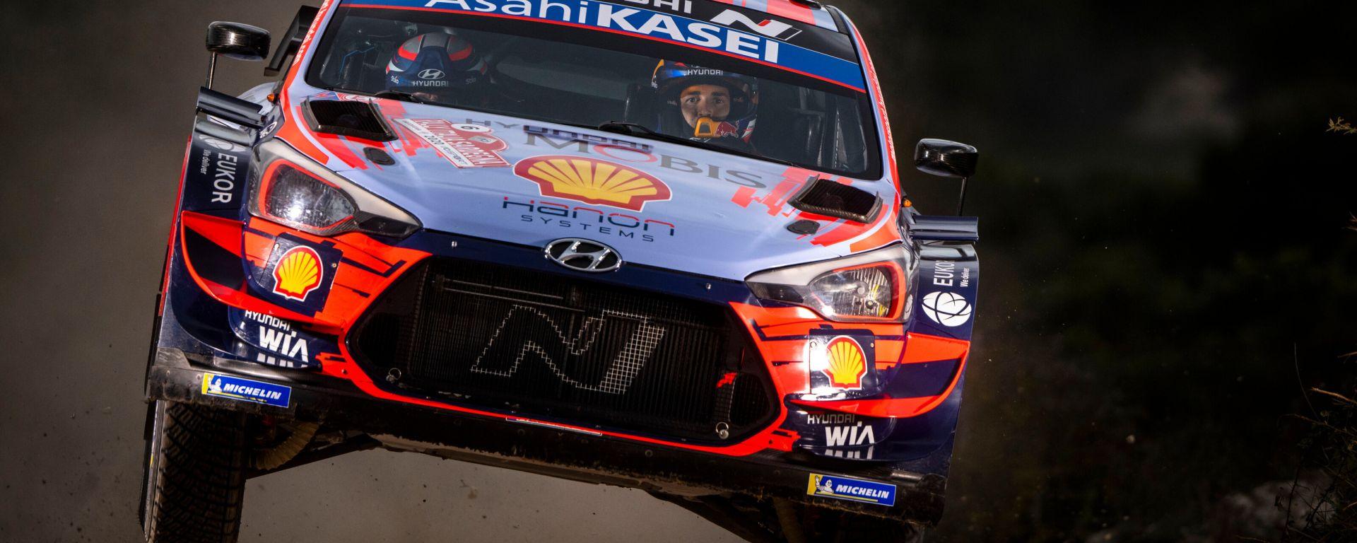 WRC, Rally Italia 2020: Dani Sordo (Hyundai)