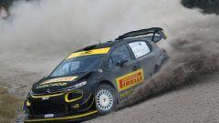 Shakedown con una Citroen C3 WRC per i nuovi pneumatici Pirelli