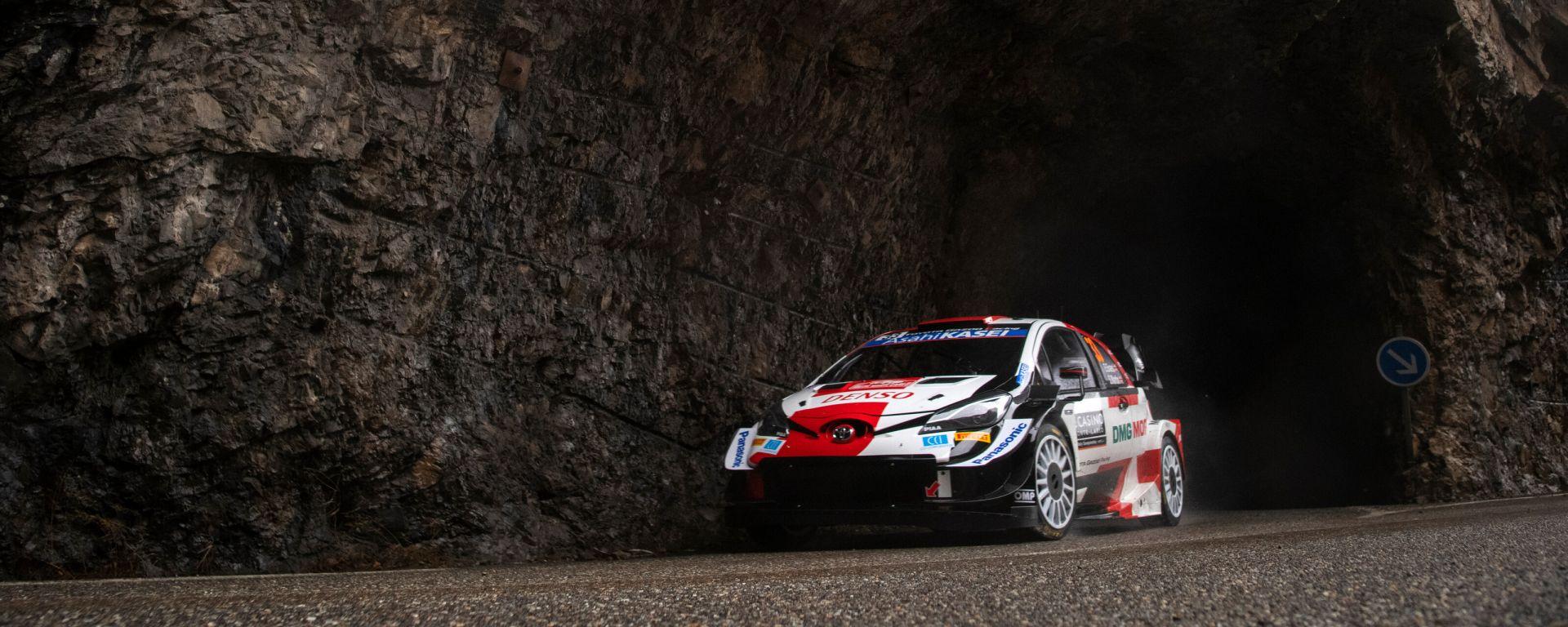 WRC, Rally Monte Carlo 2021: Elfyn Evans (Toyota)