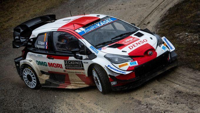 WRC, Rally Monte Carlo 2021: Sebastien Ogier (Toyota)