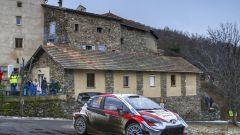 Rally Montecarlo: duello Toyota, Evans torna al comando