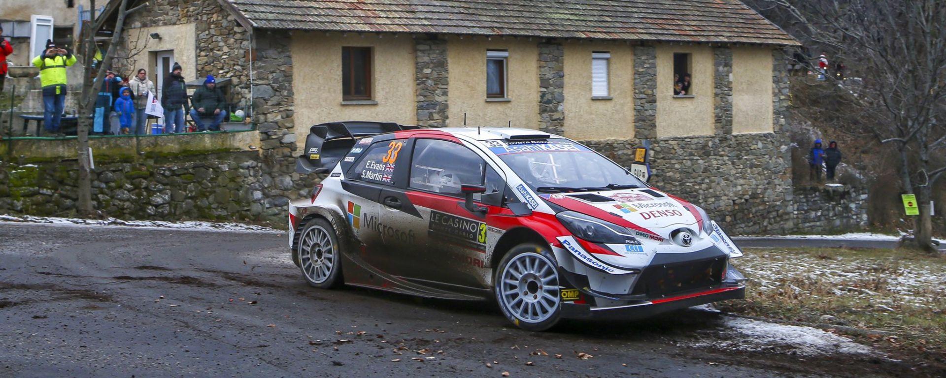 WRC, Rally Montecarlo 2020: Elfyn Evans (Toyota)
