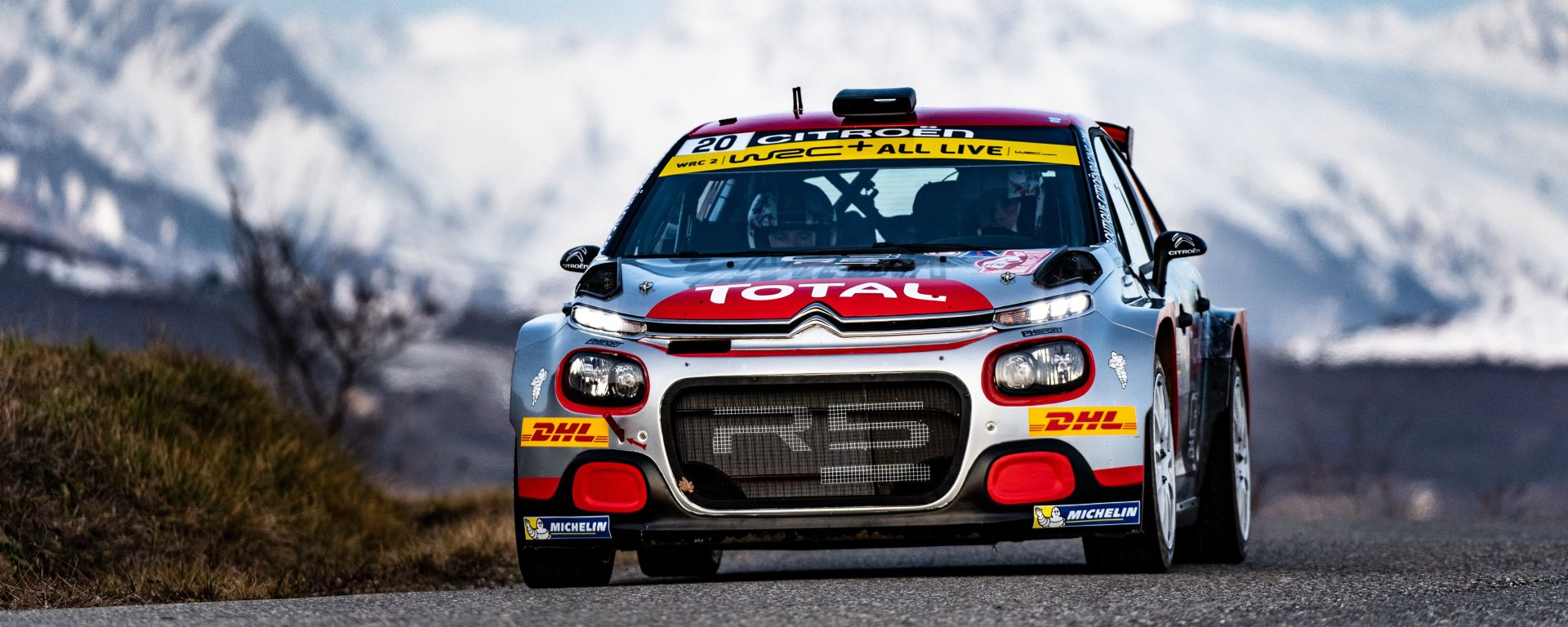 WRC, Rally Montecarlo 2020: Mads Ostberg (Citroen)