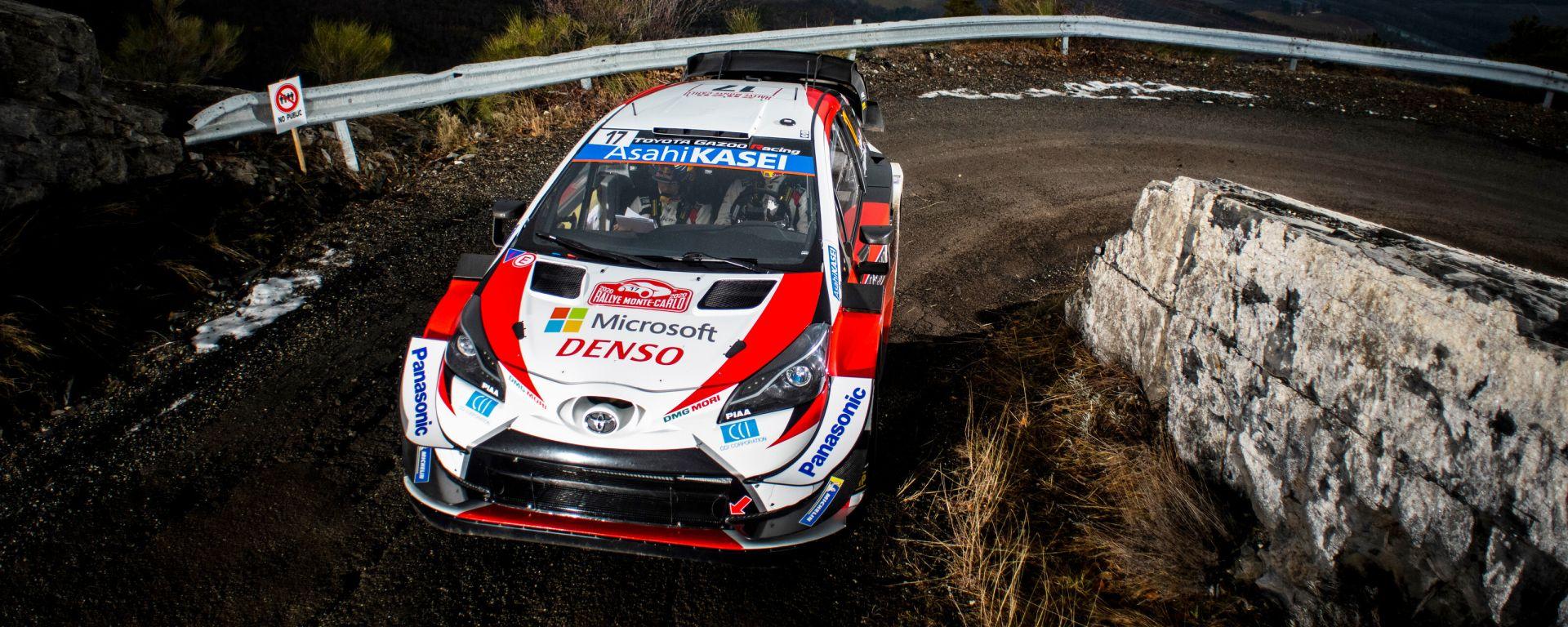 WRC, rally Montecarlo 2020: Sebastien Ogier (Toyota)