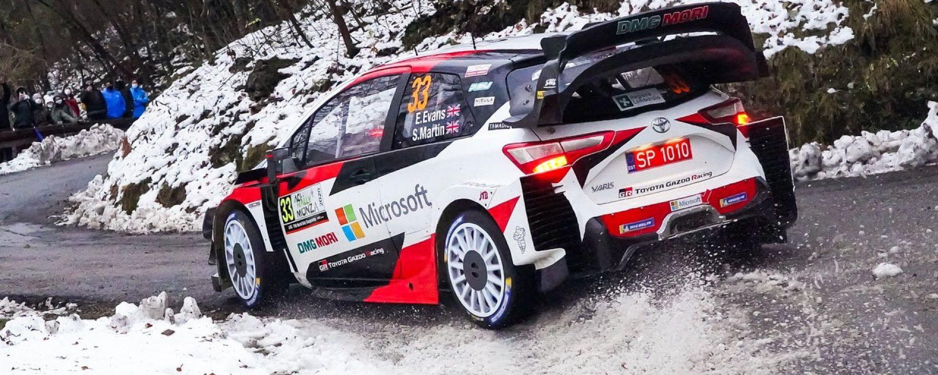 WRC, Rally Monza 2020: Elfyn Evans (Toyota)