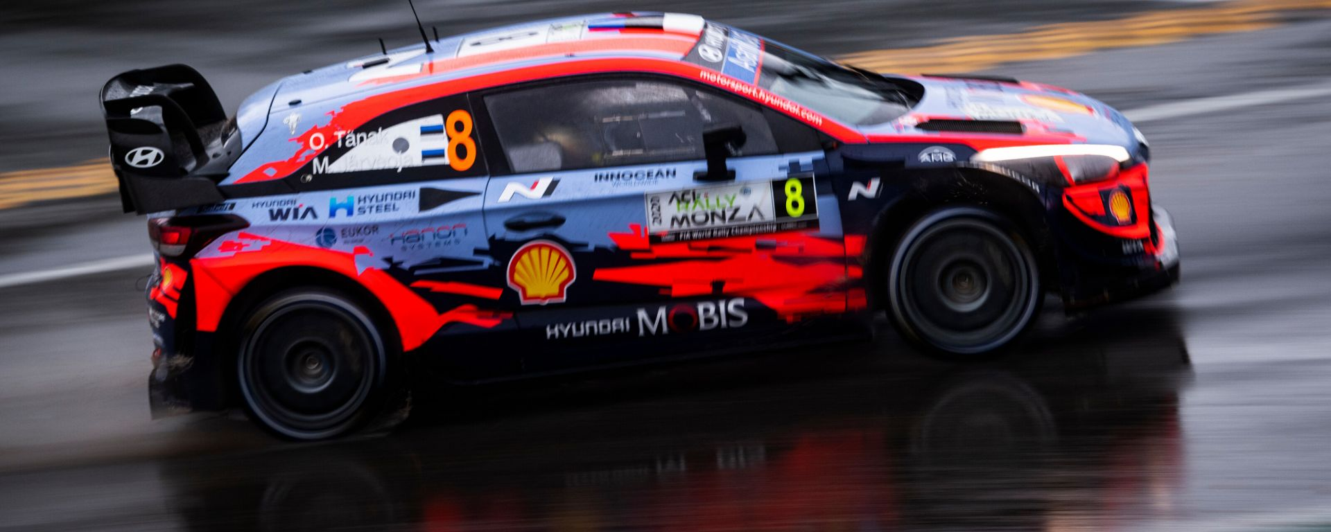 WRC, Rally Monza 2020: Ott Tanak (Hyundai)