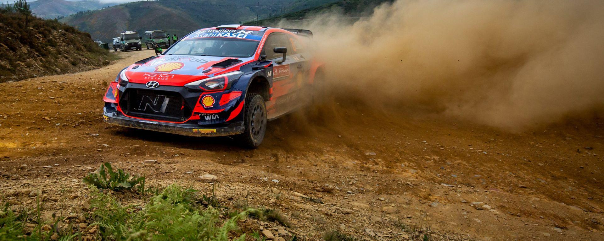 WRC, Rally Portogallo 2021: Ott Tanak (Hyundai)