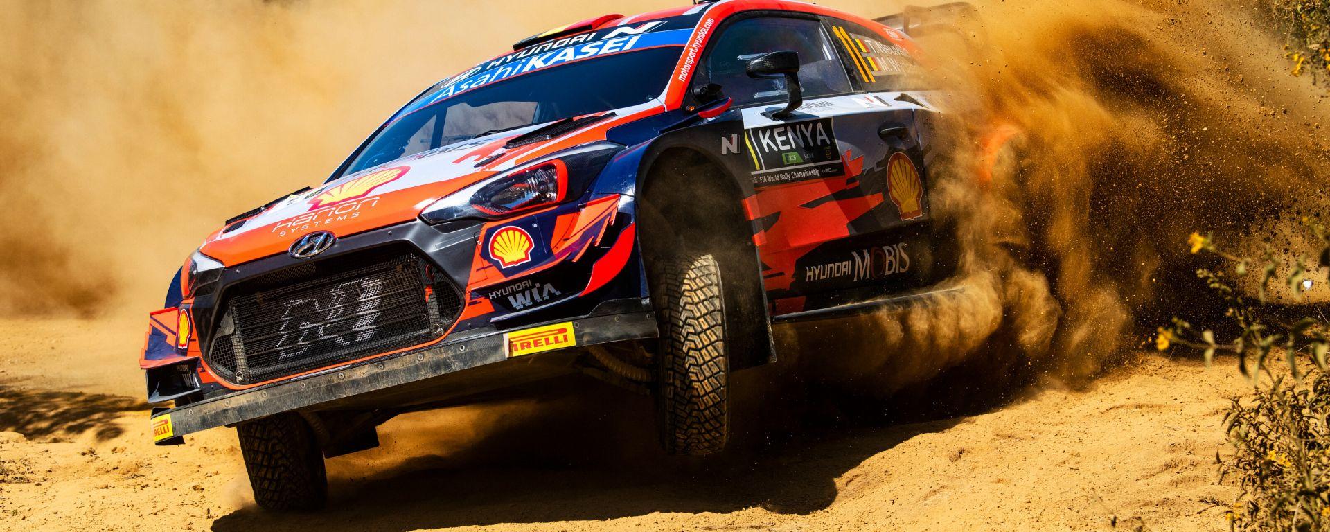 WRC, Rally Safari Kenya 2021: Thierry Neuville (Hyundai)