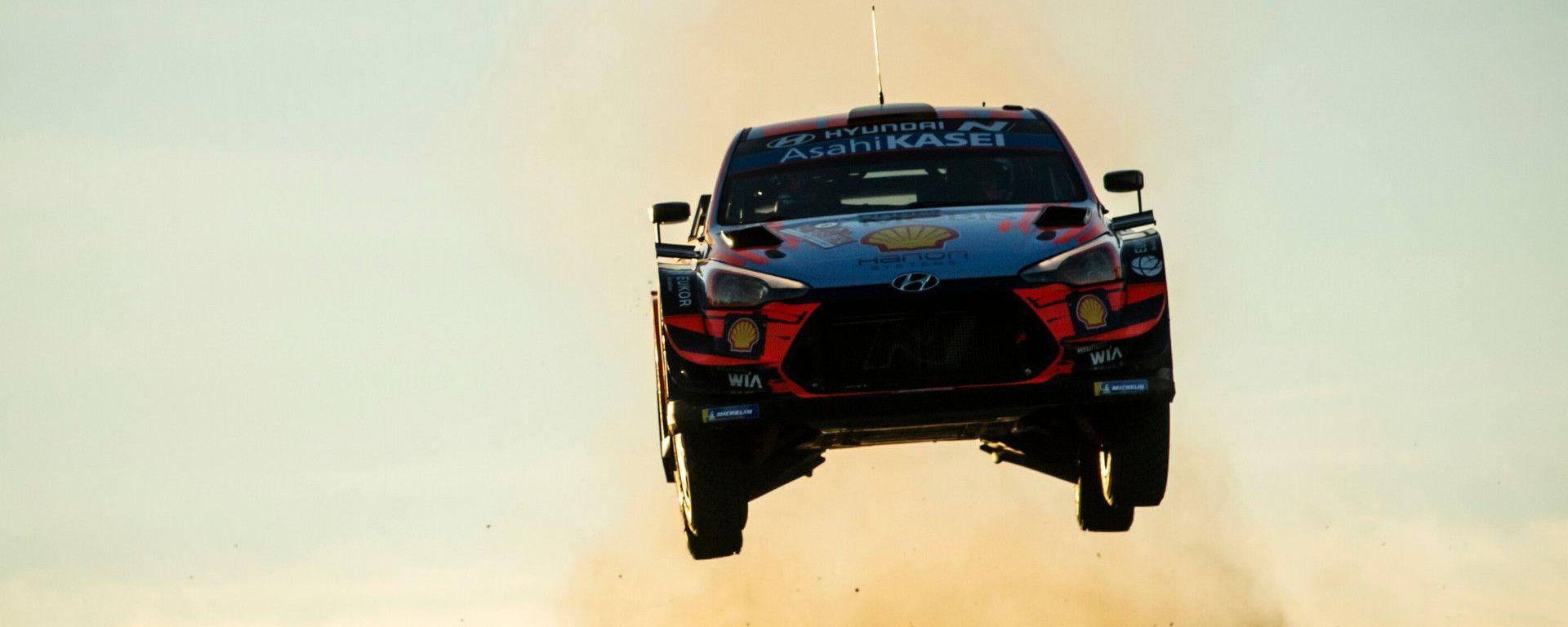 WRC, Rally Sardegna 2020: Dani Sordo (Hyundai)