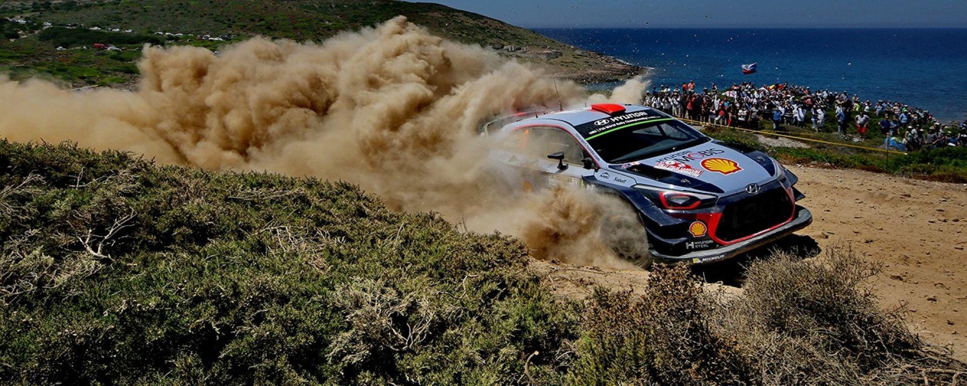 WRC Rally Sardegna Italia 2018, tutte le info: orari, risultati prove speciali, programma, gara