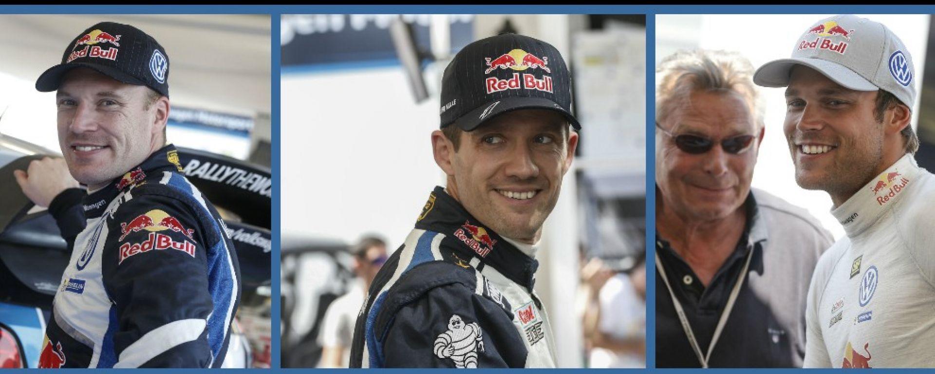 WRC Rally Sardegna: le dichiarazioni dei piloti Volkswagen
