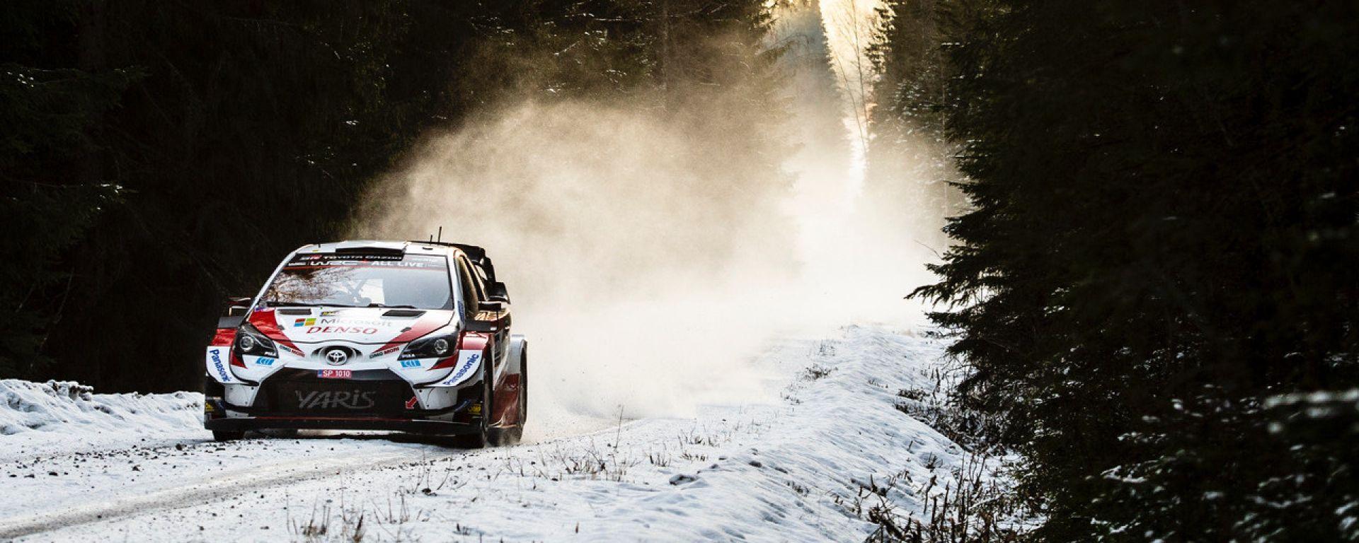 WRC, Rally Svezia 2020: Elfyn Evans (Toyota)