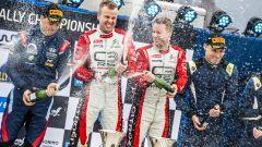 WRC, Rally Svezia 2020: il podio della classe WRC2