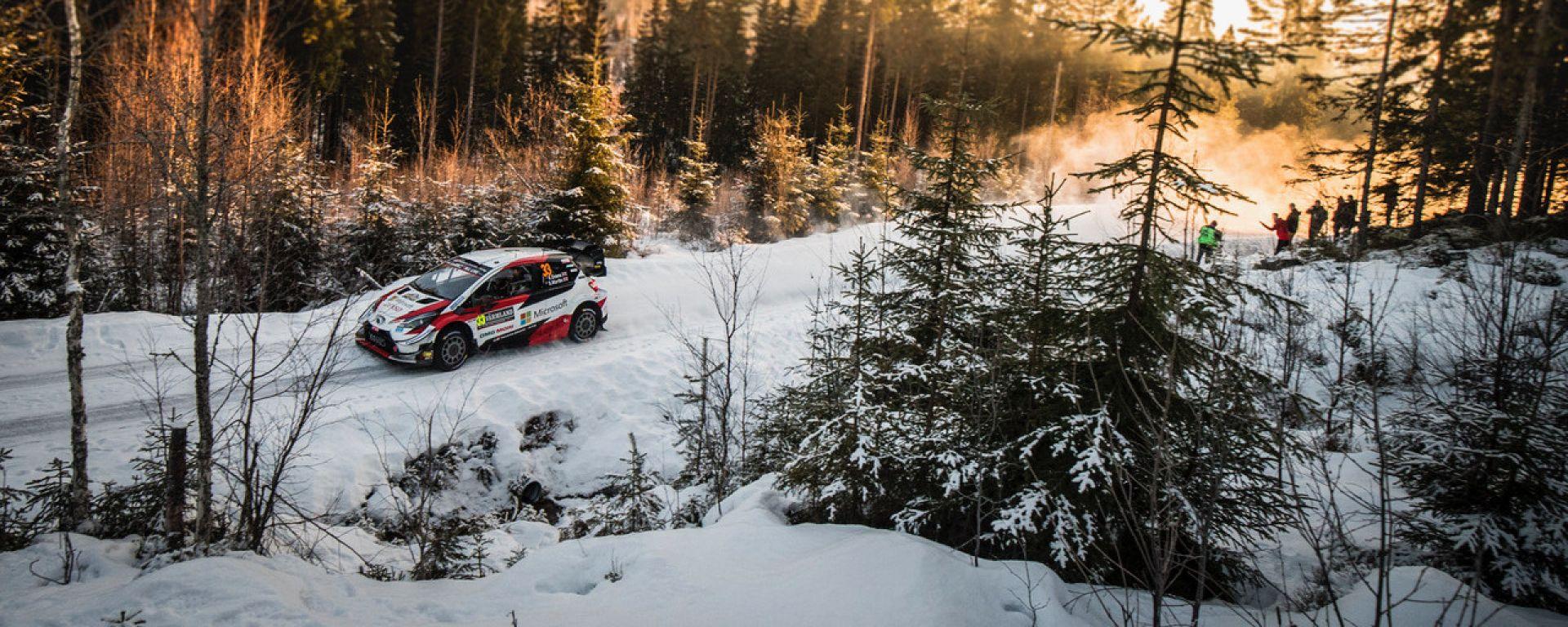 WRC, Rally Svezia 2020: la Toyota di Elfyn Evans