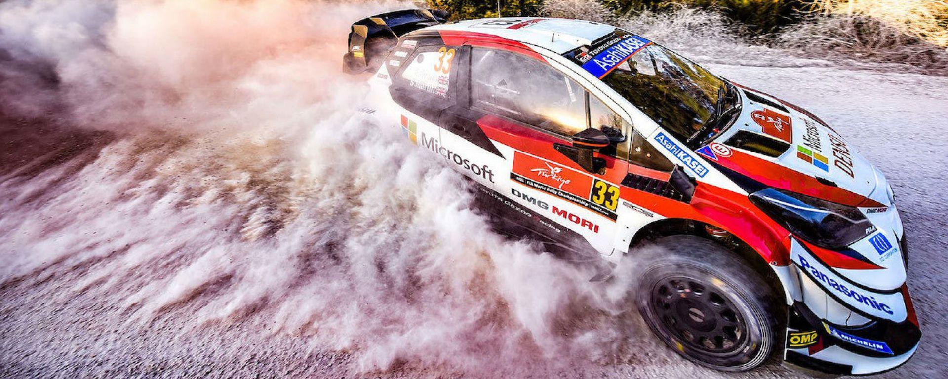 WRC Rally Turchia 2020: Elfyn Evans (Toyota Yaris)