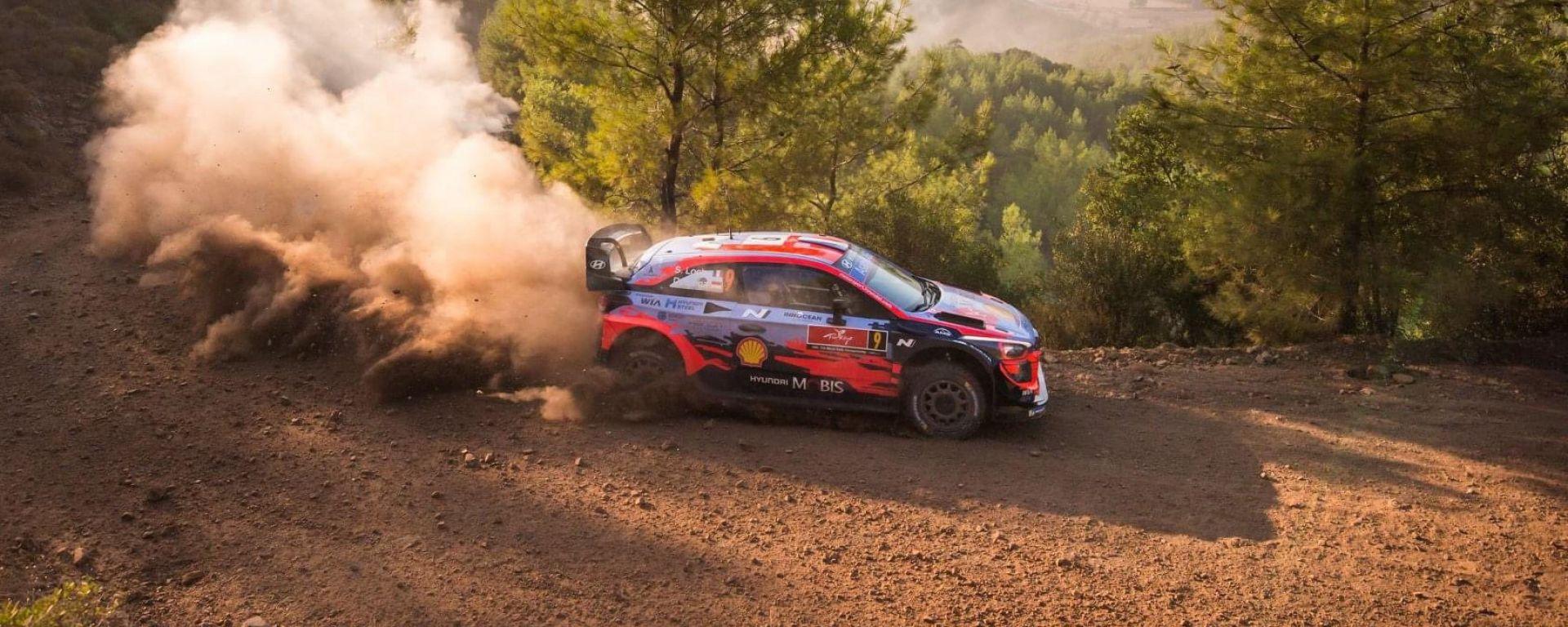 WRC, Rally Turchia 2020: Sebastien Loeb (Hyundai)
