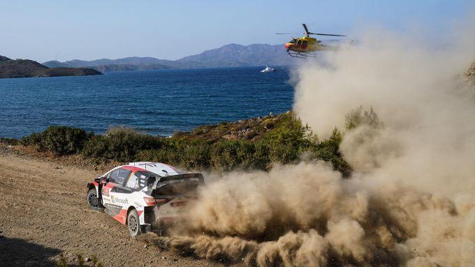 WRC Rally Turchia 2020: Sebastien Ogier (Toyota Yaris)