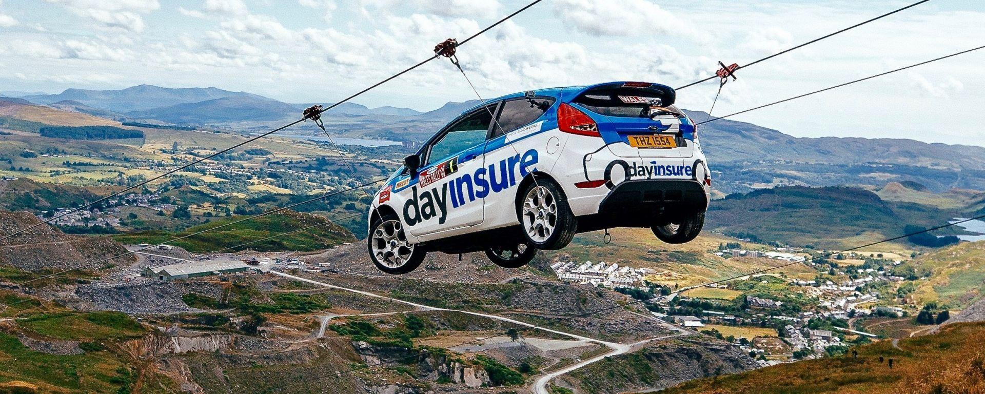 WRC Rally Wales GB: Dayinsure fa volare la Ford Fiesta