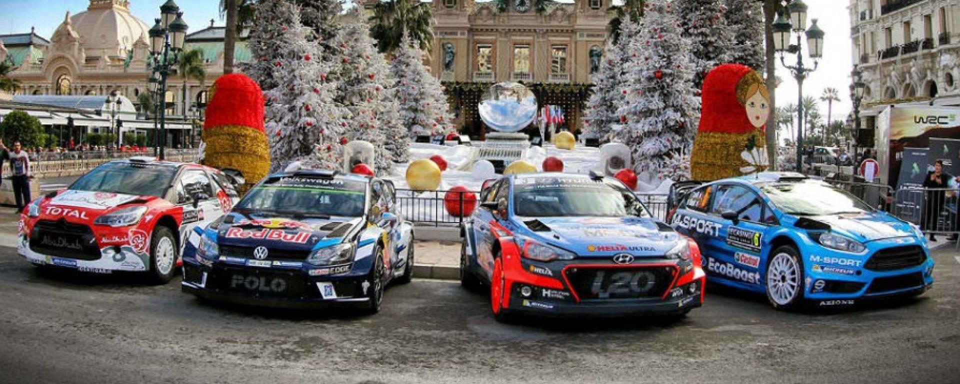 WRC RD1 Rally di Montecarlo