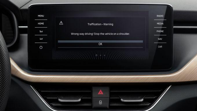 wrong-way-warning di Bosch, disponibile sulle auto Skoda